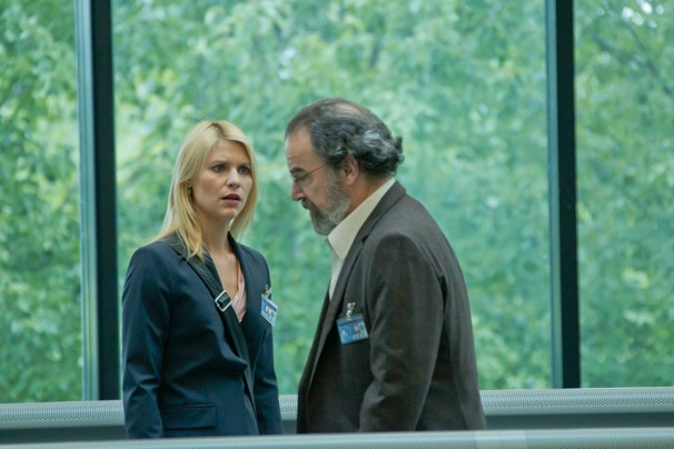 Homeland - Carrie and Saul