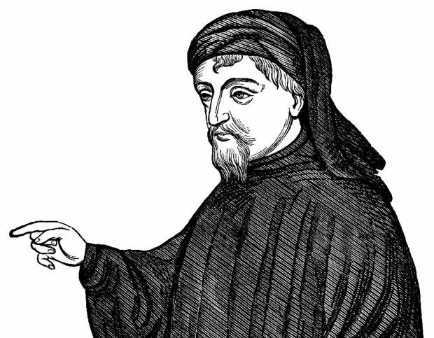 Geoffrey-Chaucer-drawing