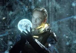 Michael Fassbender as David in Prometheus
