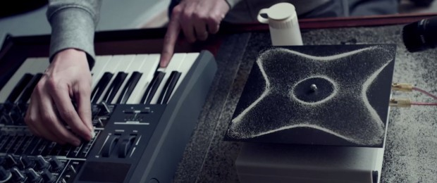 Cymatics music video by Nigel Stanford and Shahir Daud.