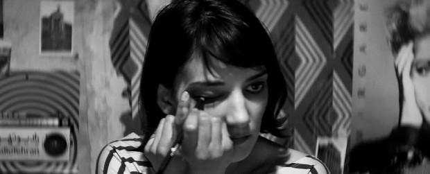"""Sheila Vand in """"A Girl Walks Home Alone at Night"""""""