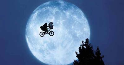 Stranger Things borrows heavily from ET and other films.